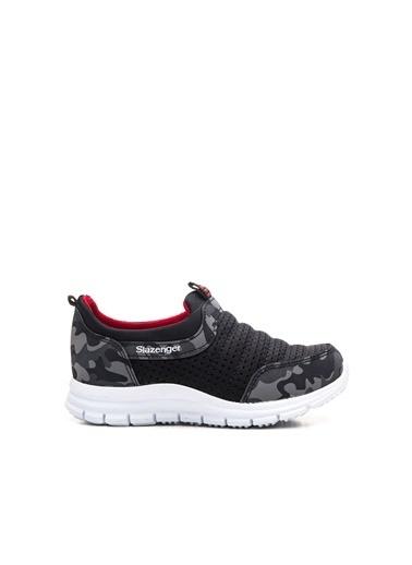 Slazenger Eva Unisex Çocuk Sneaker Ayakkabı Siyah